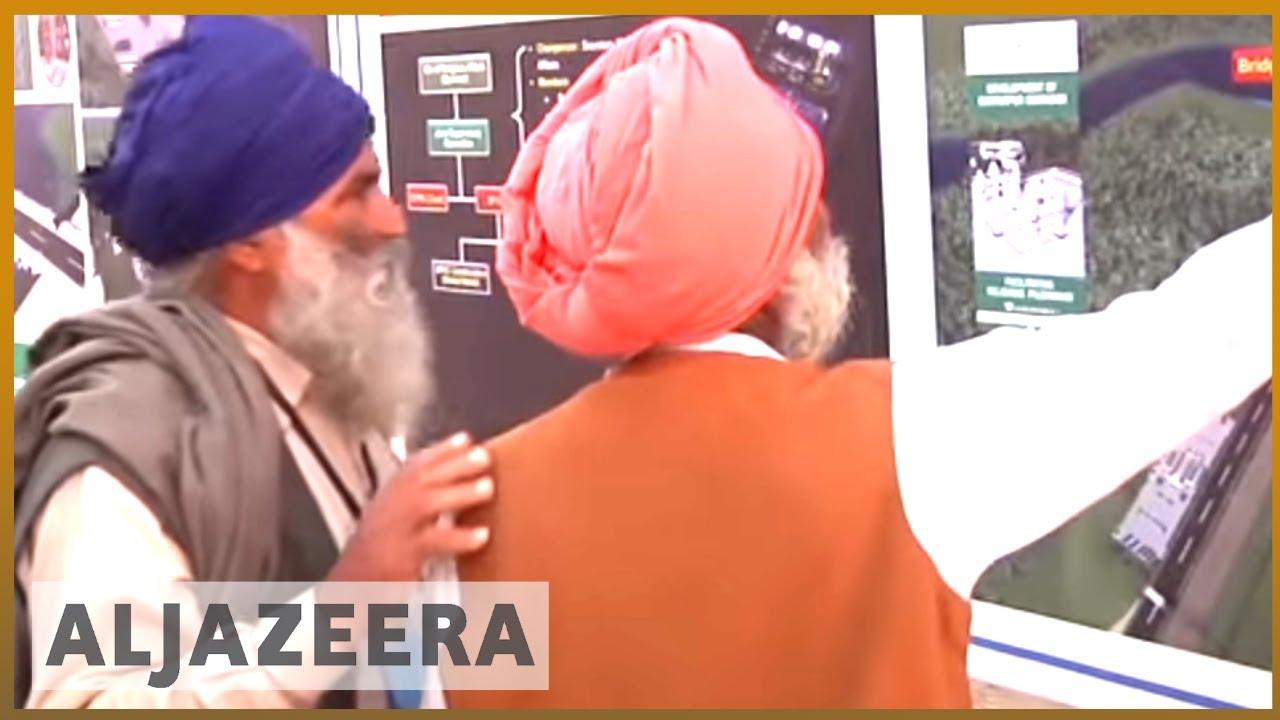 🇵🇰🇮🇳Pakistan and India break ground on visa-free Kartarpur corridor   Al Jazeera English