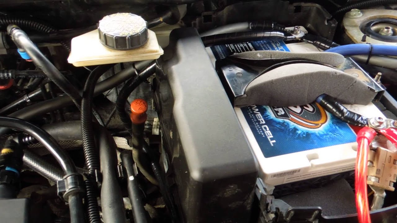 For Infiniti G35 Fuse Box How To And Why To Ground Your Alternator Youtube