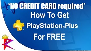 How to get FREE Playstation PLUS! (UNLIMITED FREE TRIALS!) *NO CREDIT CARD required*