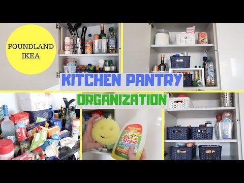 kitchen-pantry-organization-||-poundland-&-ikea-||-kitchen-organise-part-1