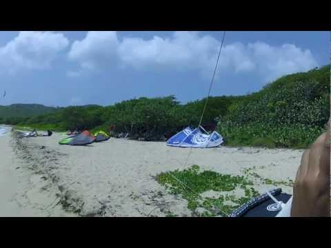 Kiteboarding on St. Croix, U.S Virgin Islands