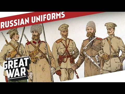 Russian Uniforms of WW1 I THE GREAT WAR Special