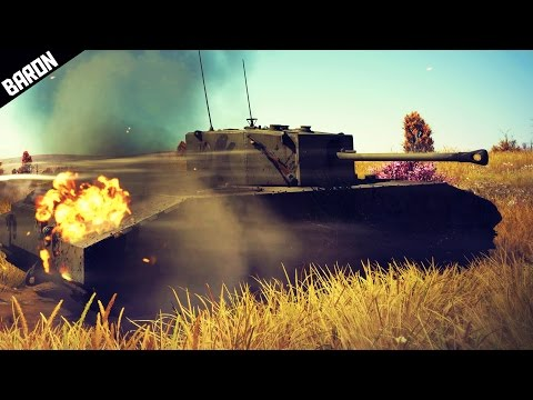 War Thunder's New British Tank, EXCELSIOR! (War Thunder Premium Tank Gameplay)