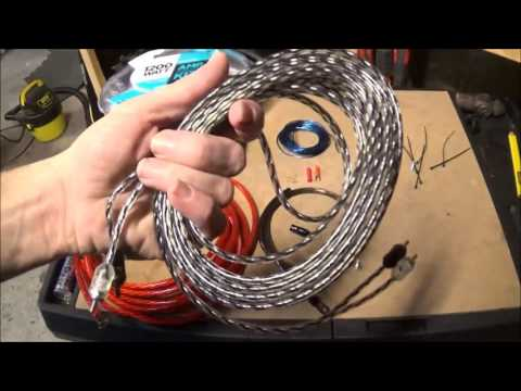 SCOSCHE 1200 WATT AMP WIRING KIT FROM WAL MART review - YouTube on amp install kit, amp connectors, pt cruiser car kit, amp cable, amp wire kit, amp installation kit, car amp kit,