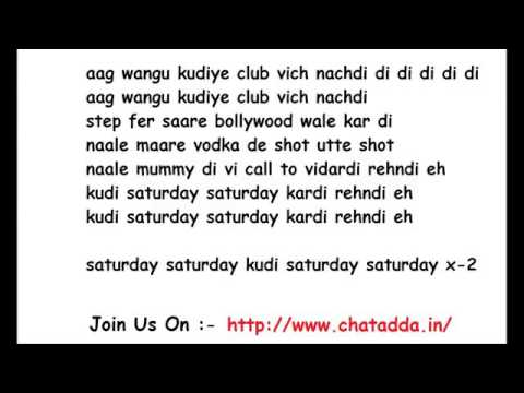 Saturday saturday Full song   Humpty Sharma Ki Dulhania http   www chatadda in    YouTube