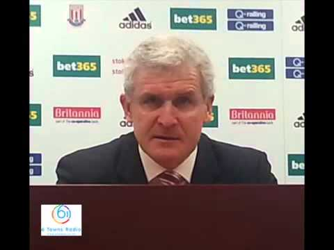 Mark Hughes post match press conference Stoke City vs Leicester City FA Cup 3rd Round