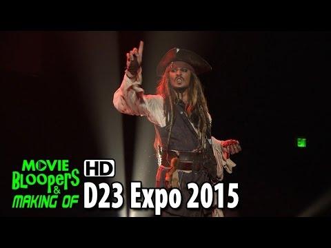 Disney's D23 Expo 2015: Pirates of the Caribbean: Dead Men Tell No Tales Presentation & Johnny Depp