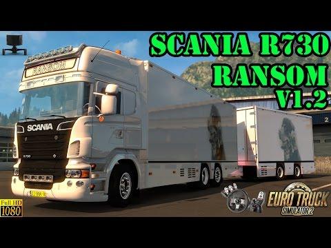 ETS 2 - Scania R730 Ransom Tandem v1.2