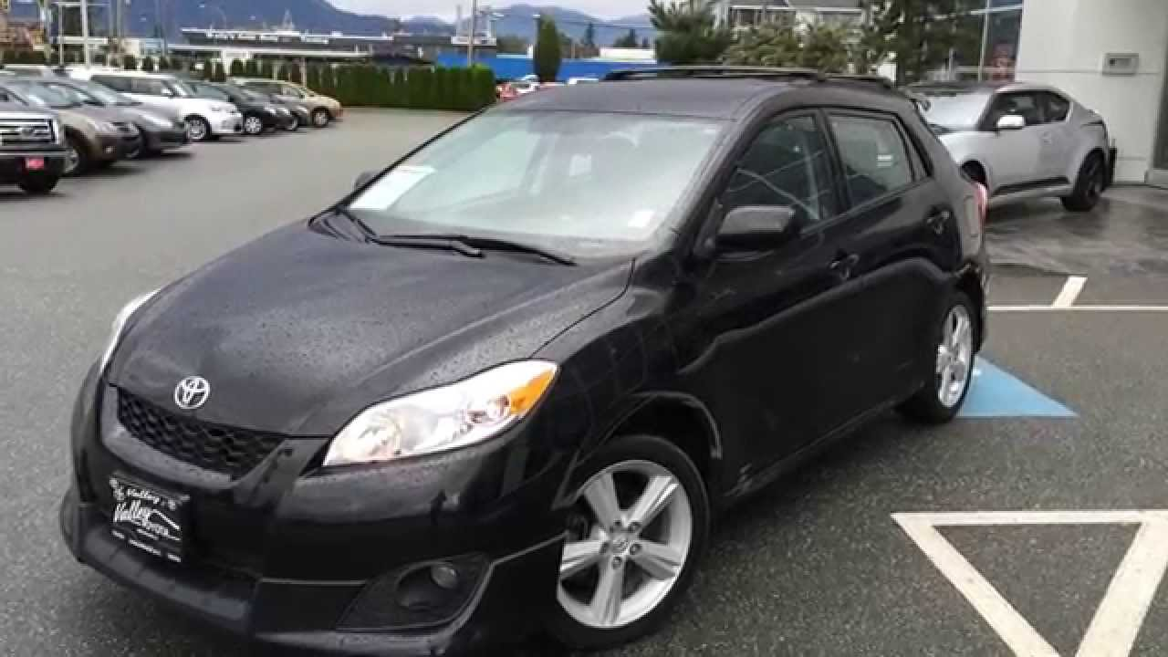 sold 2010 toyota matrix xr preview for sale at valley toyota scion in chilliwack b c. Black Bedroom Furniture Sets. Home Design Ideas