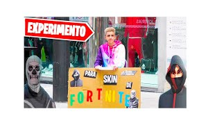 😱 FOR a STREET SKIN!😱 *fortnite in real life*