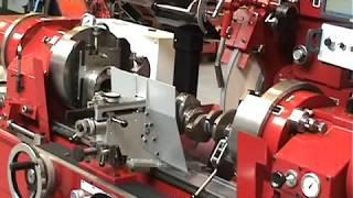 Amc Schou K-1200 CNC Crankshaft Grinder