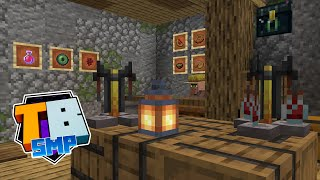 Suspicious Stu! - The Potion Brewing Room! - Truly Bedrock - S02 EP05