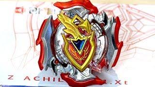 Z Achilles .11.Xt Starter (B-105) Unboxing & Review! - Beyblade Burst Super Z/ChoZ
