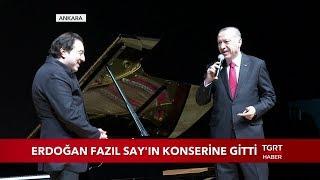 Cumhurbaşkanı Erdoğan Fazıl Say'ın Konserine Gitti Video