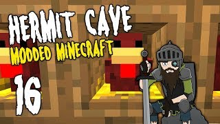 Hermit Cave: 16 | Quest for EGGSUMA | Modded Minecraft