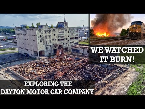 ABANDONED Ohio Factory | DAYTON Motor Car Company | We're not alone