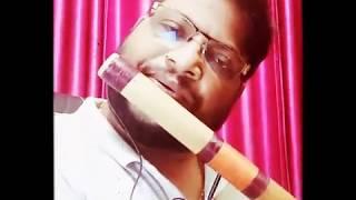 Chand jaise mukhde pe  song  in flute   Yesudas   Sawan ko ane do [1979]  Vijay Woodwinds