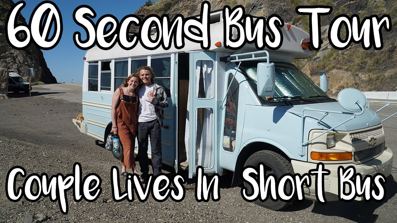 60 Second Bus Tour: Couple Lives in Short Bus