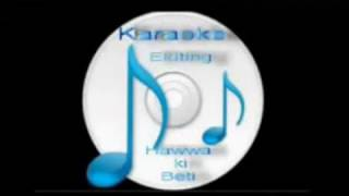 Chandan Sa Badan - Female  (saraswati chandra  ) Free karaoke with lyrics by Hawwa -