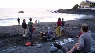 Gomera sundowner celebration