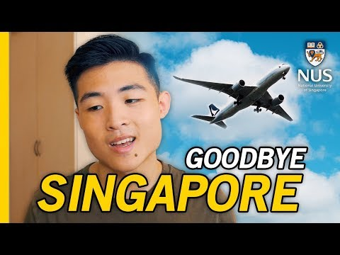 I'M LEAVING SINGAPORE - NUS University Exchange Overview