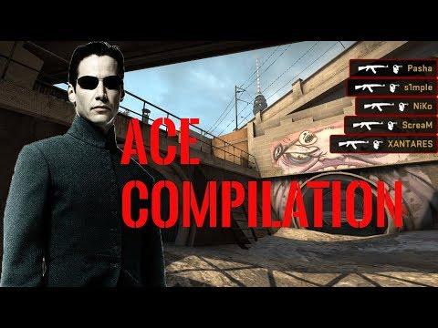 INCREDIBLE ACE Compilation  (Pros, Streamer, ESL, Twitch, Stream)   CS:GO