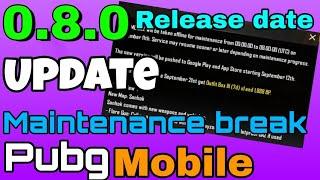 Pubg mobile || Mantainence break || Sanhok map || pubg mobile update || Hindi/Urdu || gaming tech gm