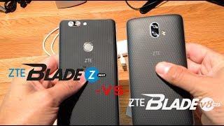 ZTE BLADE ZMAX VS ZTE BLADE V8 PRO SIZE & DIFFRENCES