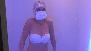 Санаторий Ружанский - обзор процедуры криотерапия, Санатории Беларуси