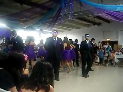Quinceanera Masquerade Dance YouTube