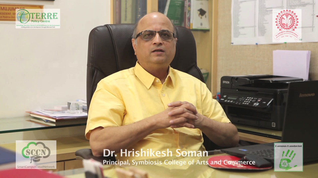 Dr Hrishikesh Soman Principal Symbiosis College Of Arts And Commerce Youtube
