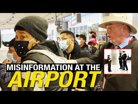 Quarantine? Or are these Canadians free? Migrant labourers, cops and more at Toronto's airport