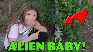We Found An ALÏEN BABY In The Woods!