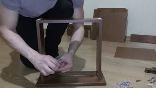 Распаковка и сборка прикроватной тумбы Соната от Мебель-Сервис.