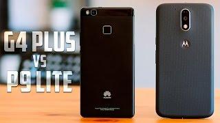 Moto G4 Plus vs Huawei P9 Lite