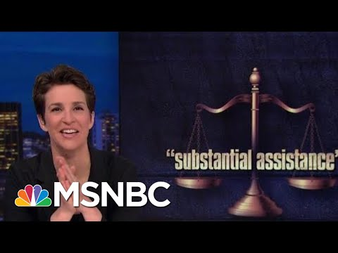 Prosecutors Praise Patten Help In 'A Number' Of Unnamed Cases | Rachel Maddow | MSNBC