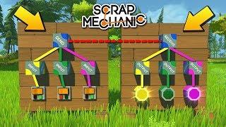 МОД БЛИЖНЕЙ РАДИОСВЯЗИ И УПРАВЛЕНИЯ !!! МУЛЬТИК в СКРАП МЕХАНИК !!! СКАЧАТЬ Scrap Mechanic !!!