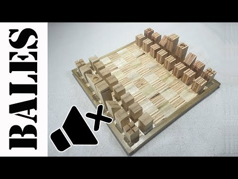 The Poplar & Plywood Chess Set [No Music Version]