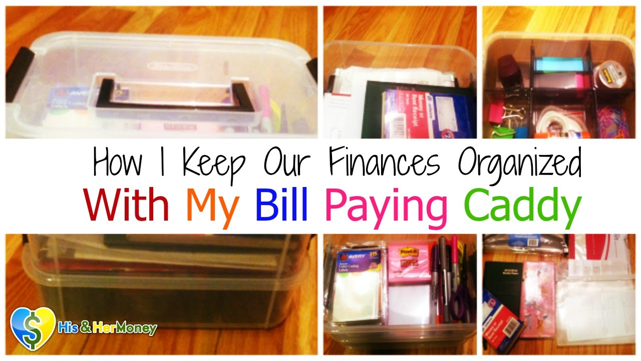 How I Keep Our Finances Organized With My Diy Bill Paying