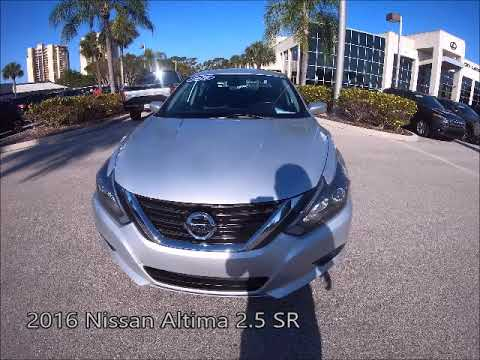 2016 Nissan Altima 2 5 Sr >> Used 2016 Nissan Altima 2 5 Sr Near Fort Myers And Cape Coral