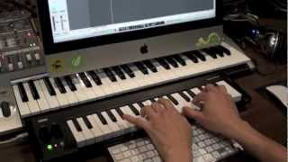 Korg MicroKey Review - Playing & Recording Dance Music