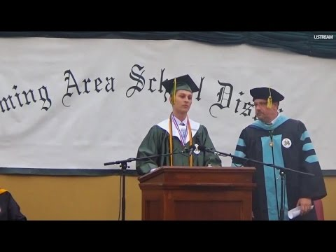 Valedictorian Cut Off During Speech Gets to Finish on