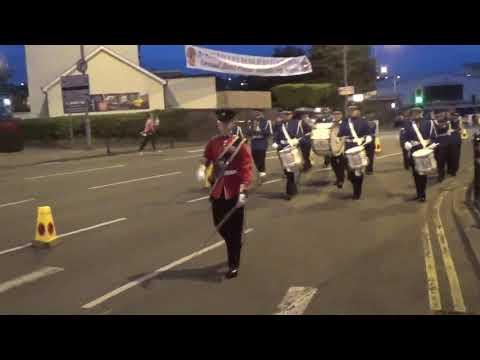 Brookeborough FB @ Eniskillien Fusiliers FB Parade 2017