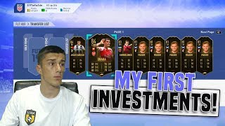 FIFA 19 INVESTING TIPS (WHAT TO BUY?!) | TRADING TO GLORY #3 | FIFA 19 ULTIMATE TEAM