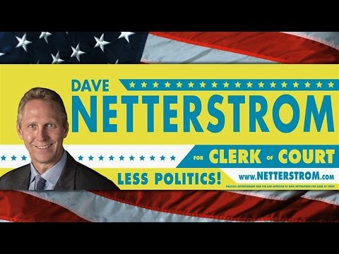 Dave Netterstrom for Brevard County Clerk of the Courts