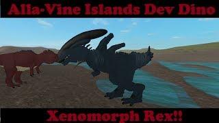 Roblox Alla-Vine Islands - Dev Dino/Owner Dino (Xeno Rex)