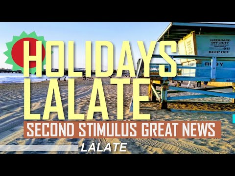 $2000 SECOND STIMULUS CHECK GREAT NEWS !! TRUMP SETS DEAL! STIMULUS PACKAGE UPDATE | HOLIDAYS LALATE