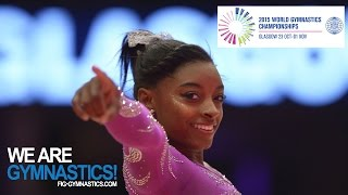FULL REPLAY: Women's All Around Final - Glasgow 2015 Artistic Worlds - We are Gymnastics !