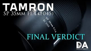 Tamron SP 35mm F1.4 (F045): Review | 4K