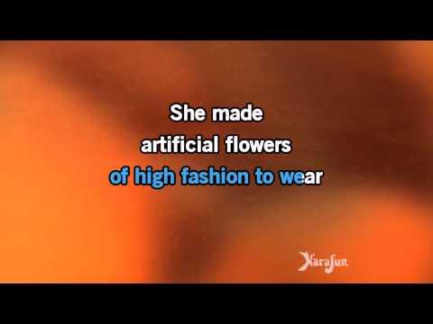 Karaoke Artificial Flowers   Bobby Darin